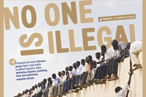 Affiche No one is illegal